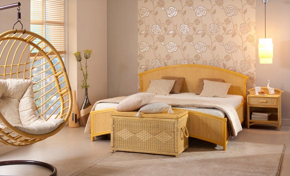 Кровать из ротанга купить 118