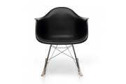 Стул Eames Style RAR Rocking Chair черный