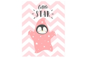 Декоративная картина LITTLE STAR